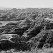 Badlands Of South Dakota #2 Art Print