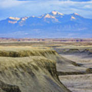 Badlands Of Utah Art Print