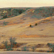 Badlands Prairie Reverie Art Print