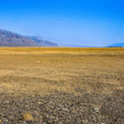 Badwater Basin In Death Valley Art Print