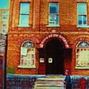 Bagg Street Synagogue Art Print