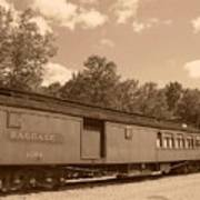 Baggage Car Art Print