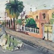 Baghdad Old House Art Print