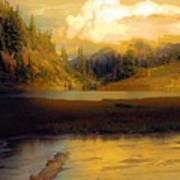 Bagley Lake Art Print