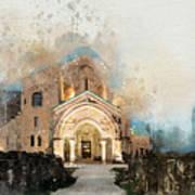 Bagrati Cathedral Art Print