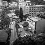 Baguio City On High Art Print