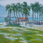 Bahama Beach  Art Print