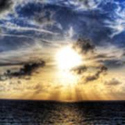 Bahama Sunset By Steve Ellenburg Art Print