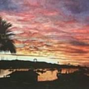 Bahia Inglesa Landscape  Art Print