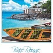 Baie Rouge Poster Art Print