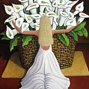 Baileyrae Lilies Art Print