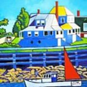 Bailey's Island Art Print