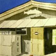 Bait Shop In Gasparilla Florida Art Print