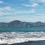 Baker Beach Panorama Art Print
