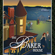 Baker House Endless Sunset Art Print