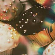 Bakers Cupcake Delight Art Print