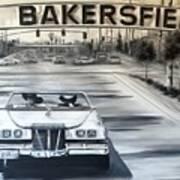 Bakersfield Art Print