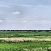 Bakken Crude On Rail Art Print