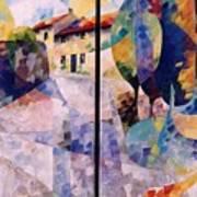 Balade A Mont Art Print
