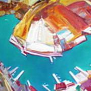 Balaklaw Bay Art Print
