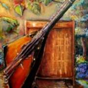 Balalaika Awaiting   Art Print