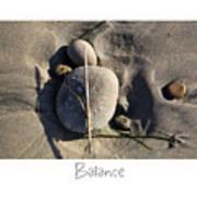 Balance Art Print by Peter Tellone