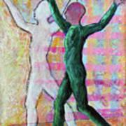 Balancing Joy Art Print