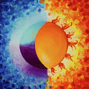 Balancing Sun And Moon Energies Art Print