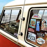 Balboa Bus Print by Ron Regalado