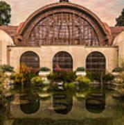 Balboa Park Botanical Building Symmetry Art Print