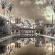 Balboa Park Infrared Art Print