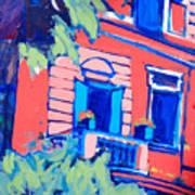 Balcone Art Print