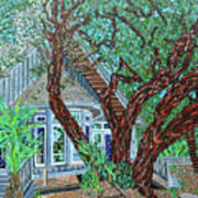 Bald Head Island, Village Chapel Art Print