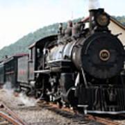 Baldwin Locomotive Number Fifteen Art Print