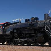 Baldwin Mikado 2-8-2 No 4960 Steam Locomotive Williams Arizona Art Print