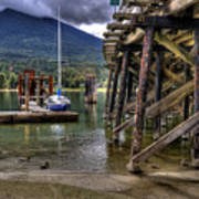 Balfour British Columbia Art Print