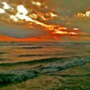 Bali Evening Sky Art Print