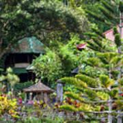 Bali Gardens Art Print