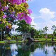 Bali Reflections Art Print