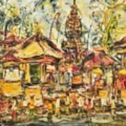 Balinese Ceremony  Art Print