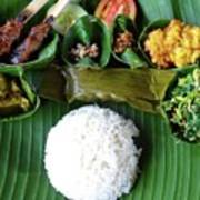 Balinese Traditional Lunch Art Print