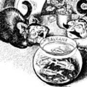 Balkan Cartoon, 1939 Art Print