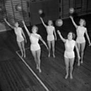 Ball Ballet Art Print