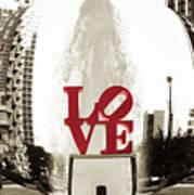 Ball Of Love Art Print