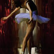 Ballerina 0xd09 Art Print