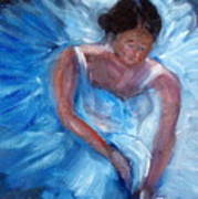 Ballerina 1 Art Print