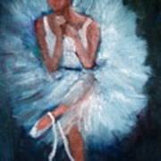 Ballerina 2 Art Print