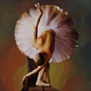 Ballerina Art 0421 Art Print