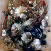 Ballerina Bouquet Art Print