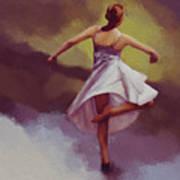 Ballerina Dance 0391 Art Print